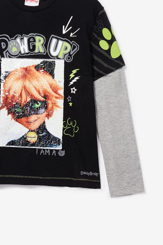 Unisex double sleeve Ladybug T-shirt   Desigual
