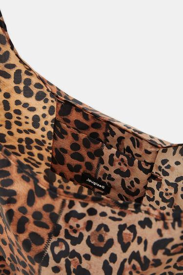Folding leopard bag | Desigual