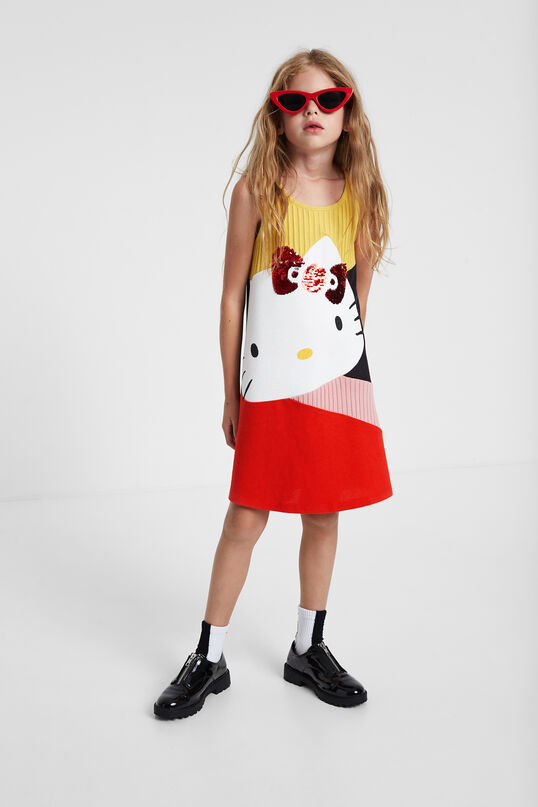 Hello Kitty flared dress | Desigual