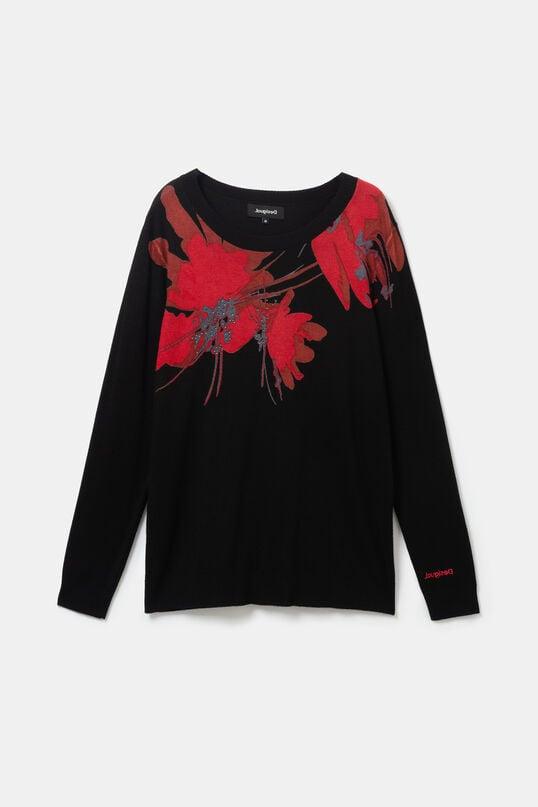 Viscose floral jumper | Desigual