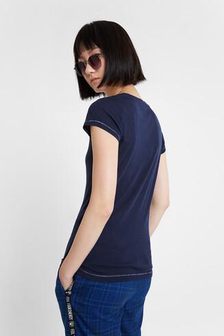 Blue T-shirt Basic Petite
