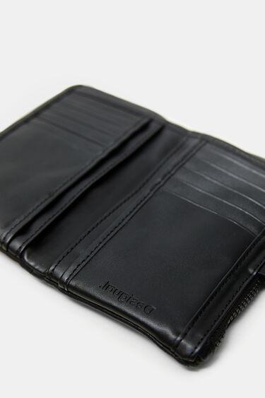 Medium coin purse zipper | Desigual