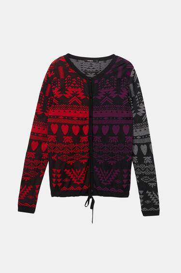 Boho jumper jacket | Desigual