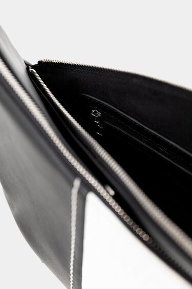 Crossed silhouette mini-bag | Desigual