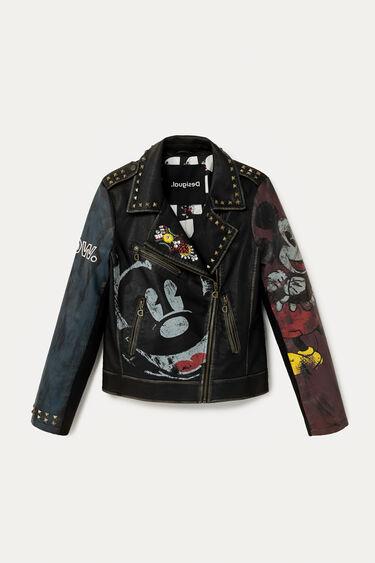 Veste biker slim Mickey Mouse | Desigual