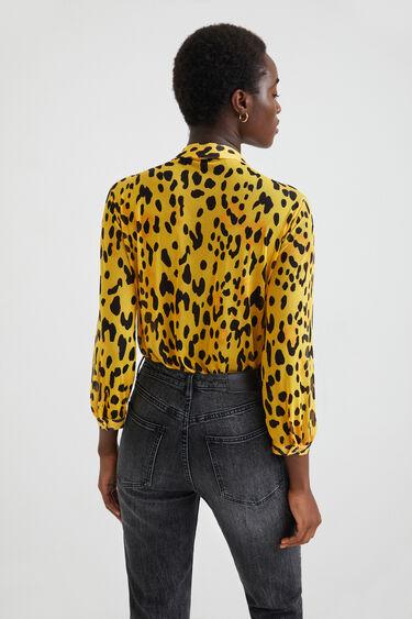 Body camisero leopardo | Desigual