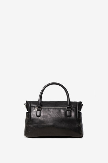 Camel briefcase bag embroidered   Desigual