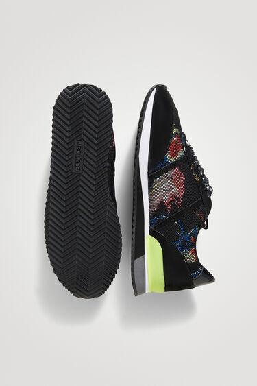 Sneakers Retro-Laufschuh Print   Desigual
