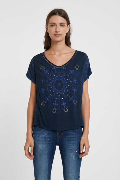 Tricot mandala T-shirt