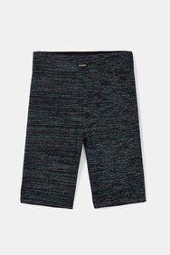 Korte legging met lurex | Desigual
