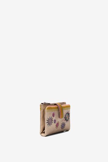 Coin purse embroidered mandalas | Desigual
