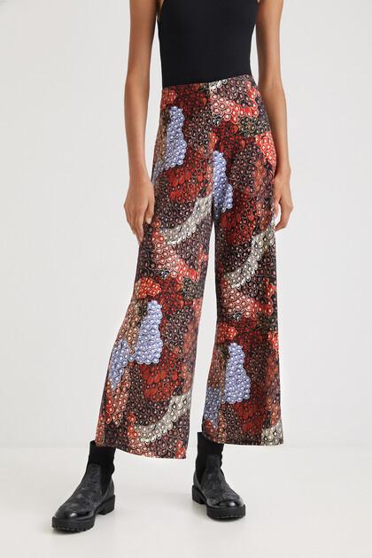 Pantalon large imprimé - DESIGNED BY M. CHRISTIAN LACROIX