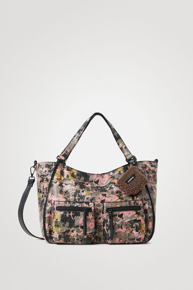 Shopping bag soffietto laterale