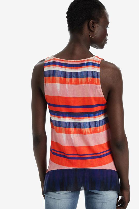 Sleeveless arty vest top   Desigual