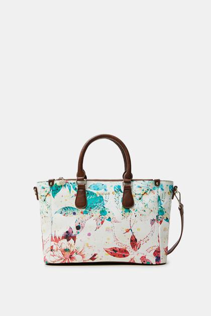 Kwiecista torebka do ręki