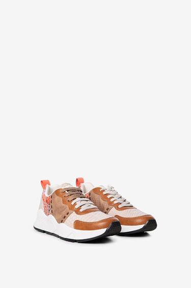 Reptile patch sneakers | Desigual