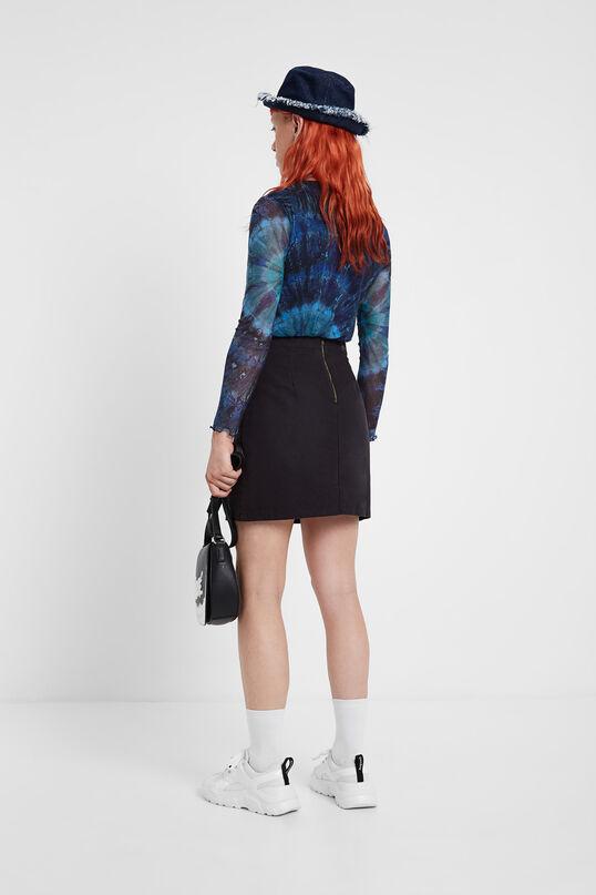 Tie-dye-Shirt aus Viskose Slim Cut | Desigual
