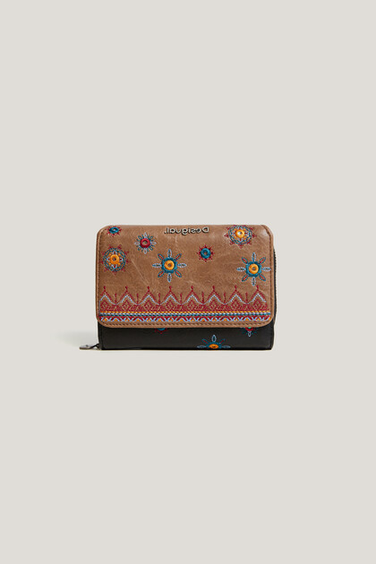 Monedero rectangular boho