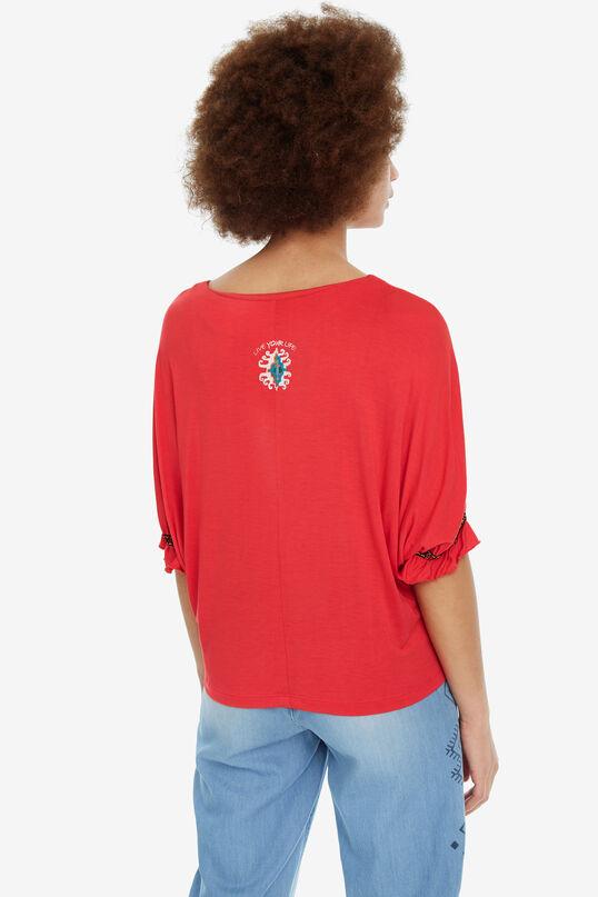 Camiseta cara africana Kahua | Desigual