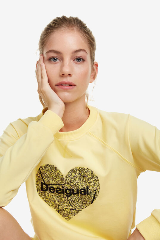 Sweat-shirt de sport cœur | Desigual