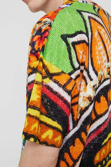 Samarreta unisex amb dissenys hindús   Desigual