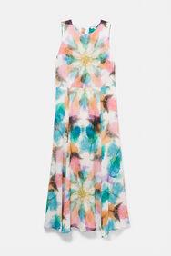 Robe longue délavée | Desigual