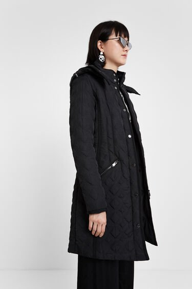 Padded coat hood | Desigual