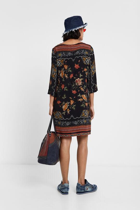Robe droite florale | Desigual