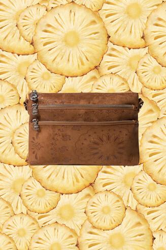 Leatherlook tas met mandala's