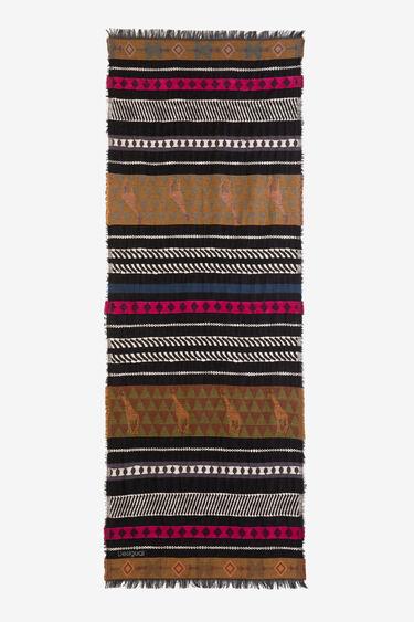 Foulard African friezes | Desigual