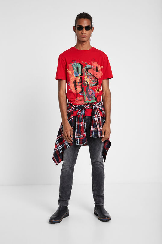 100% cotton Logomania T-shirt | Desigual