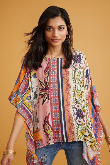 Loose paisley blouse | Desigual