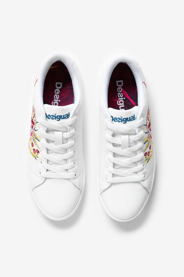 Sneakers tennis brodades | Desigual
