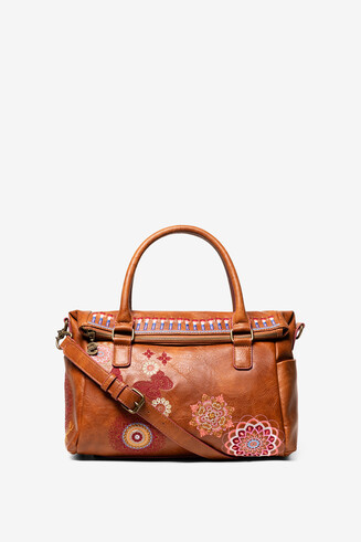 Sac camel brodé Chandy Loverty