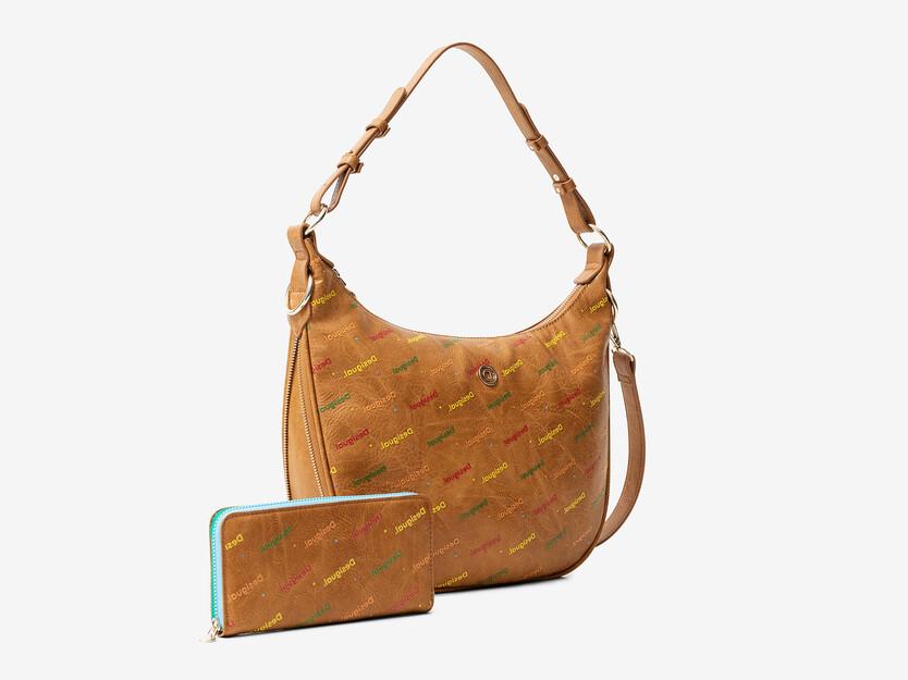 Zestaw torebka i portfel