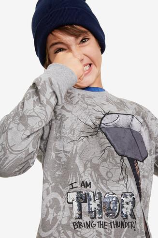 Sweatshirt mit Thors Hammer