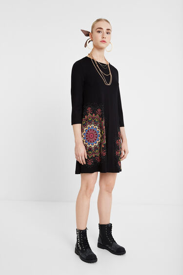 Flared mandala dress | Desigual