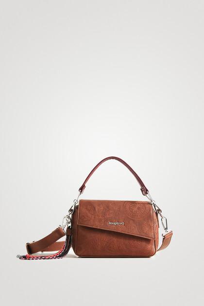 Handtasche asymmetrische Verschlussklappe