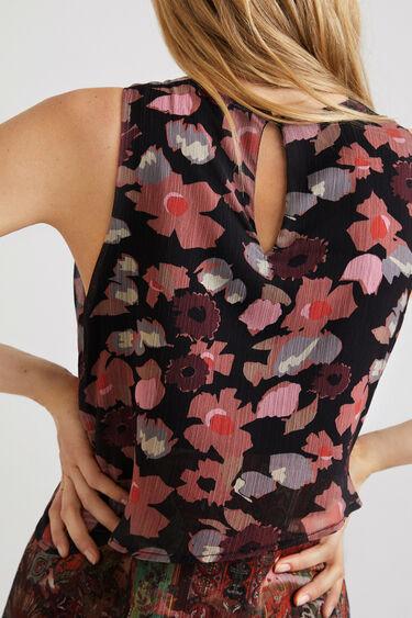 Robe courte viscose épaisseurs | Desigual