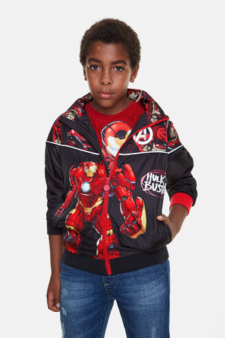 Iron Man jacket hood