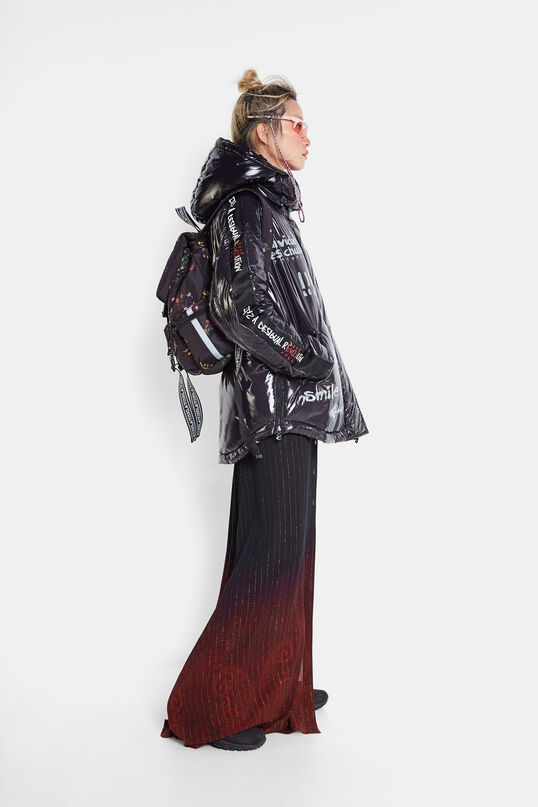 Oversize padded jacket | Desigual