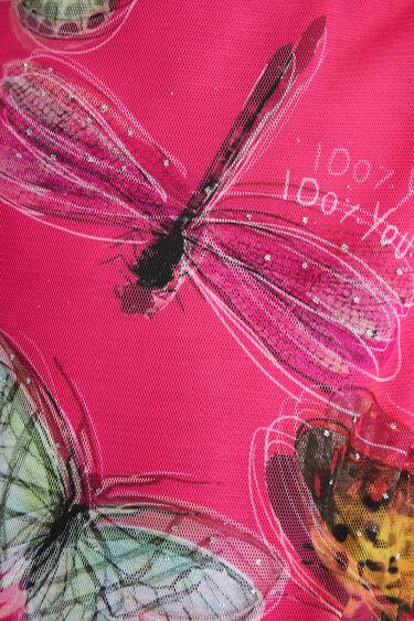 Camiseta mariposas 3D | Desigual