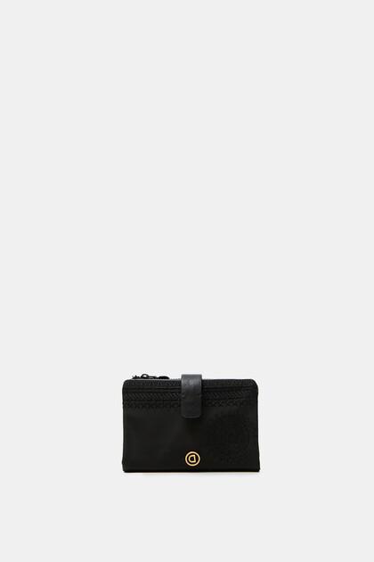 Mittelgroßes Portemonnaie mit Reißverschluss