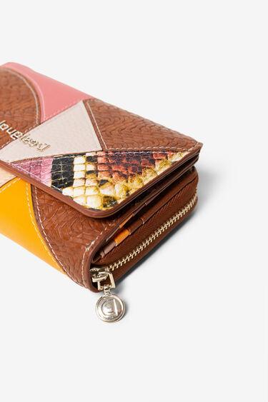 Blue patch coin purse | Desigual