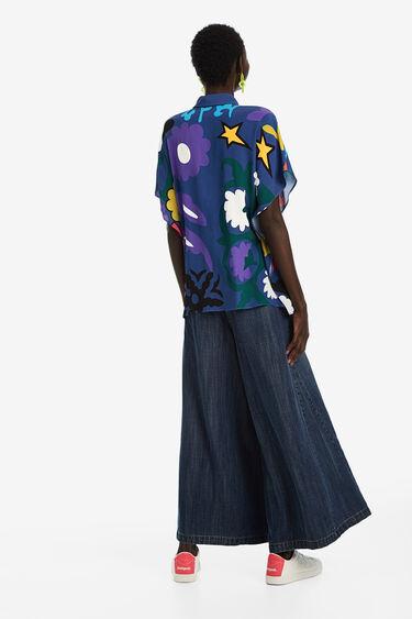 Chemise oversize print floral | Desigual