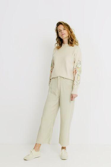 Jupe-culotte cropped 100% Lyocell | Desigual