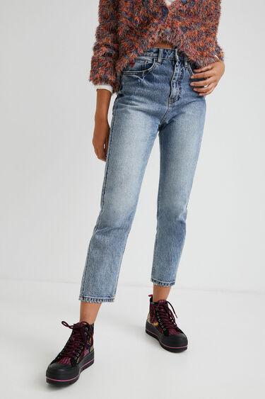 Straight fit enkeljeans | Desigual