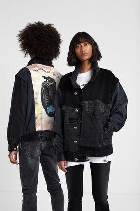 Iconic jacket «Una bomba de amor»