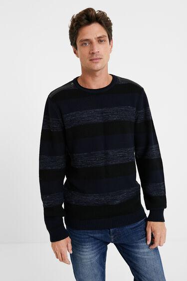Basic-Pullover aus Jersey | Desigual