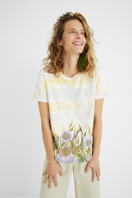Tie-dye T-shirt 100% cotton